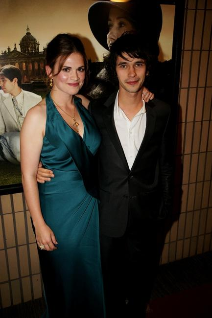 Hayley Atwell and Ben Whishaw at the UK premiere of