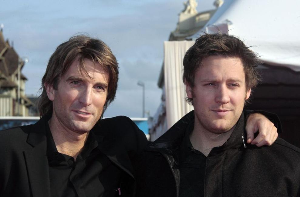 Sharlto Copley and Neill Blomkamp at the screening of