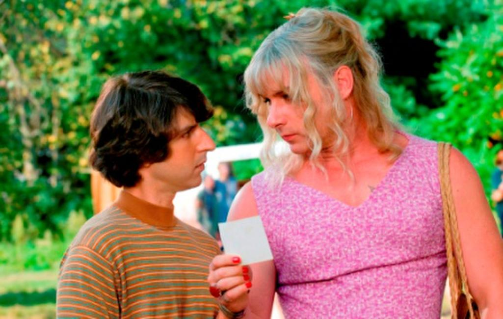 Demetri Martin as Elliot Tiber and Liev Schreiber as Vilma in