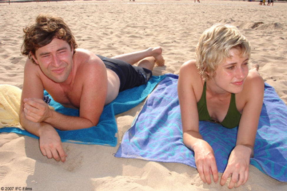 Mark Duplass as Mike and Greta Gerwig as Hannah in