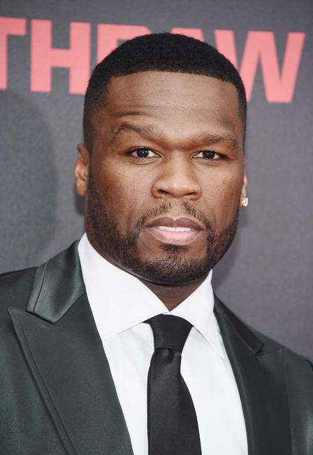 Curtis Jackson at the New York premiere of