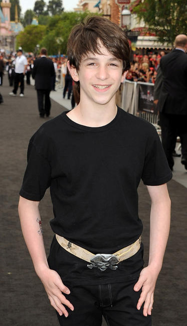 Zachary Gordon at the California premiere of