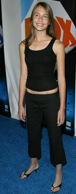 Willa Holland at the after party of the Fox primetime program announcements for 2004-2005.