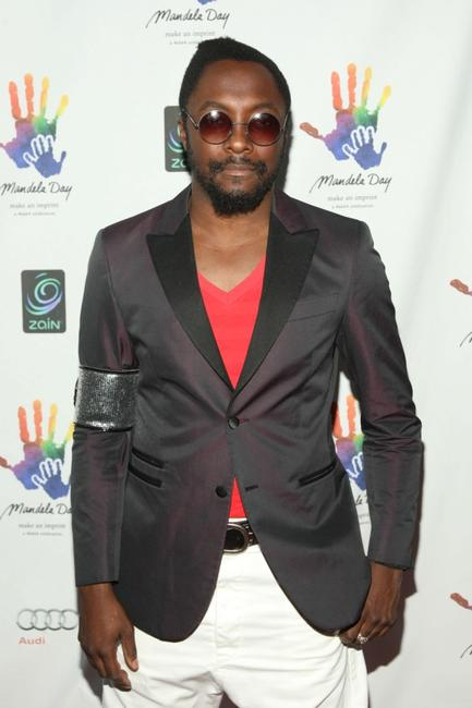 will.i.am at the Mandela Day: A 46664 Celebration Concert.