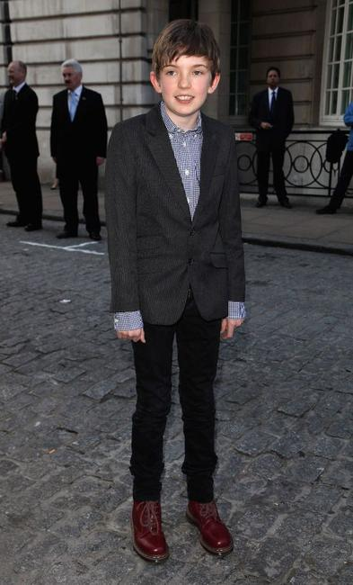 Bill Milner at the Gala premiere of