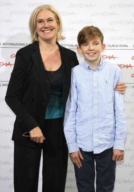 Director Annabel Jankel and Bill Milner at the 4th International Rome Film Festival.