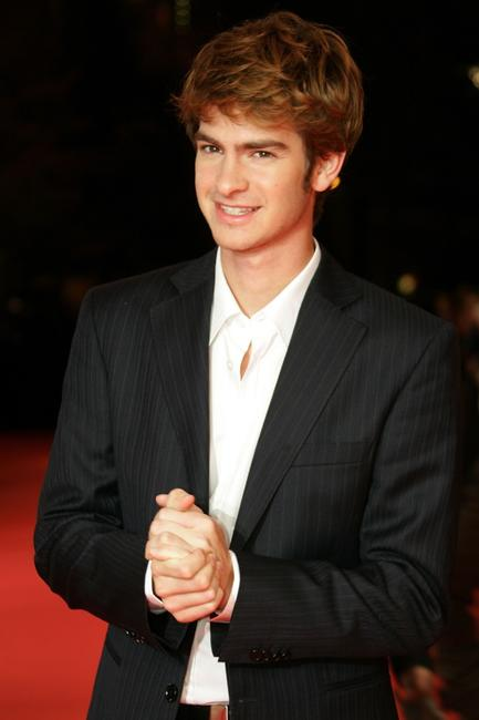 Andrew Garfield at the premiere of