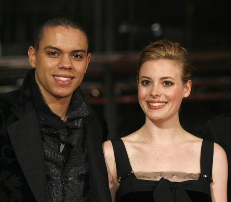 Evan Ross and Gillian Jacobs at the screening of