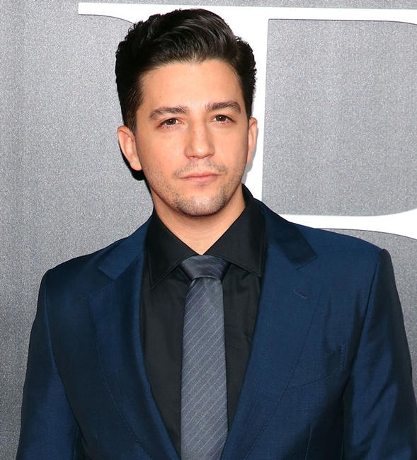 John Magaro at the New York premiere of