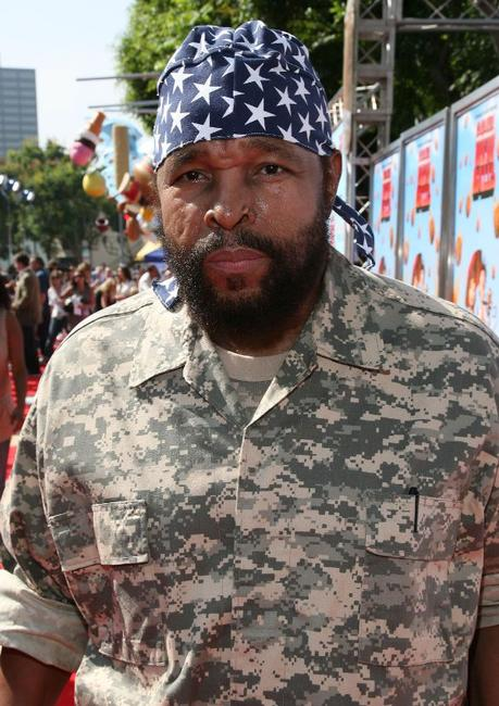 Mr. T at the premiere of