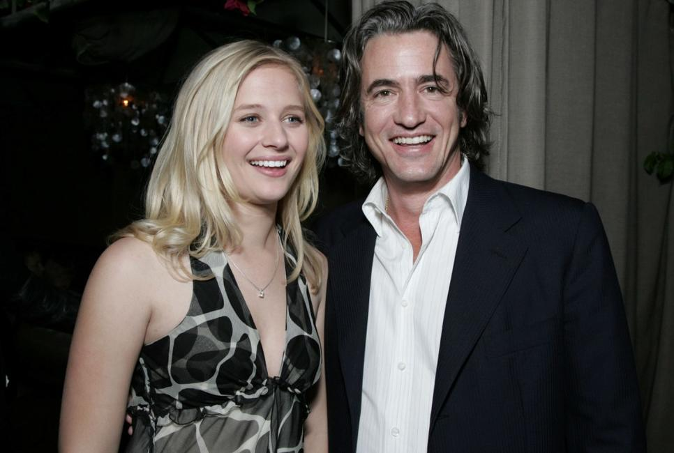 Dermot Mulroney and Carly Schoeder at the after party for the premiere of
