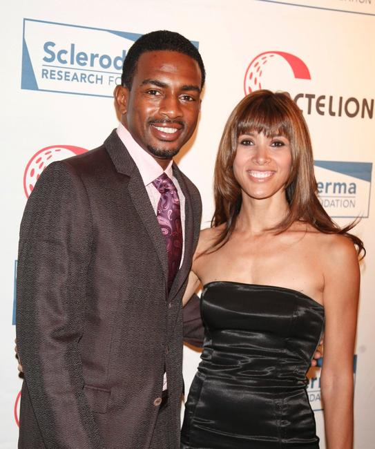 Bill Bellamy and Kristen Bellamy at the