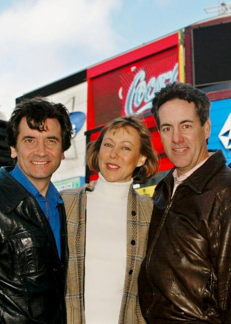 Griffin Dunne, Jenny Agutter and David Naughton at the 21st anniversary and re-release of