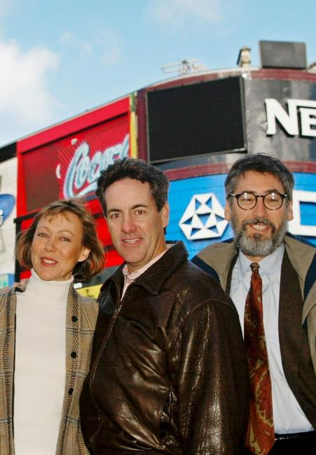 Jenny Agutter, David Naughton and Director John Landis at the 21st anniversary and re-release of