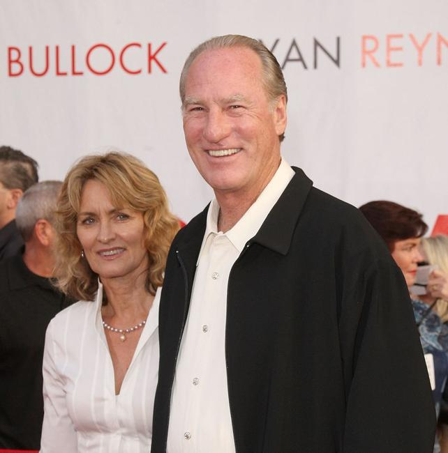 Doria Cook-Nelson and Craig T. Nelson at the premiere of