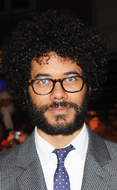 Richard Ayoade at the England premiere of