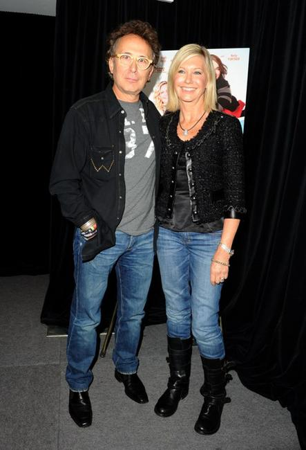Marc Jordan and Olivia Newton-John at the 2010 Toronto International Film Festival.