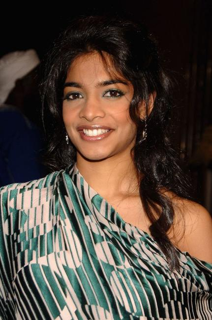 Amara Karan at the premiere of