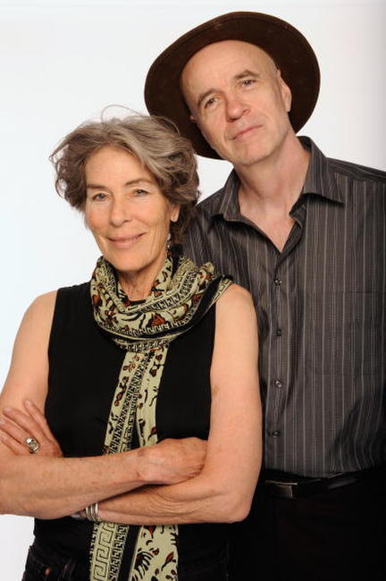 Mary Woronov and Tom Noonan at the Tribeca Film Festival 2009.