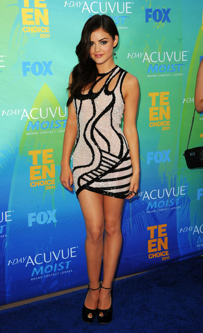 Lucy Kate Hale at the 2011 Teen Choice Awards in California.