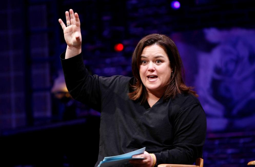 Rosie O'Donnell at the New York Spring Awakening and Degrassi panel discussion.