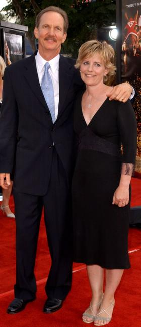 Michael O'Neill and wife at the world premiere of