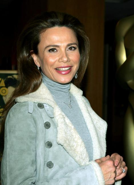 Lena Olin at the Academy of Motion Picture Arts and Sciences Centennial tribute to Oscar-winning actress Greta Garbo.