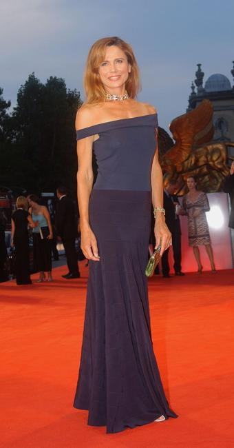 Lena Olin at the World Premiere for the out of competition film 'Casanova' during 62nd Venice Film Festival.