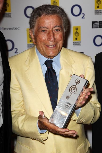 Tony Bennett at the Nordoff Robbins Silver Clef Awards 2010.