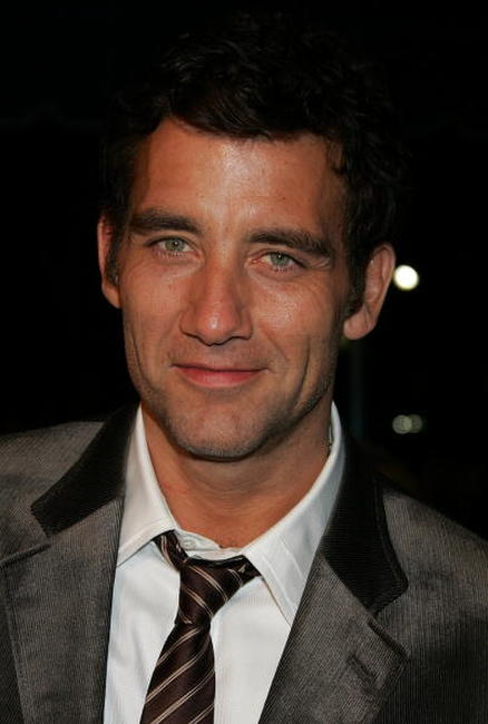 Clive Owen at the L.A. premiere of