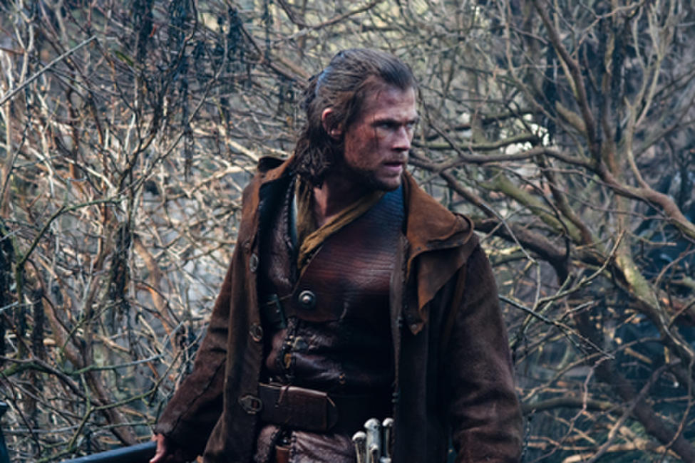Chris Hemsworth as The Huntsman in ``Snow White & the Huntsman.''