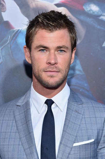 Chris Hemsworth at the California world premiere of