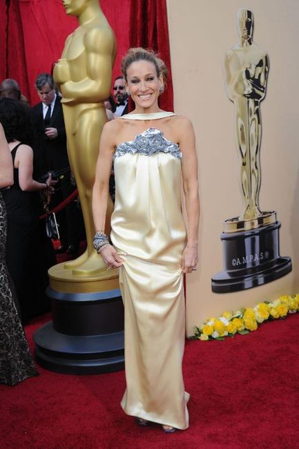 Sarah Jessica Parker at the 82nd Annual Academy Awards.