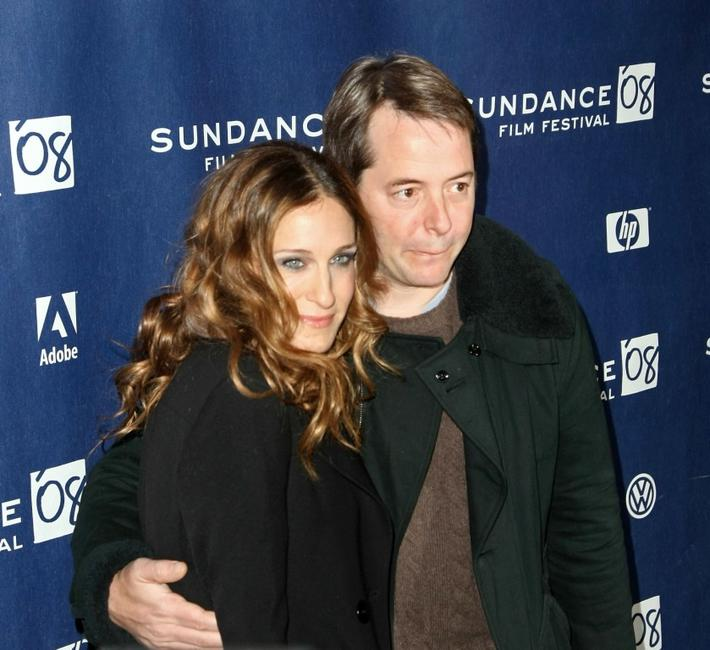 Sarah Jessica Parker and Matthew Broderick at the Sundance Film Festival premiere of