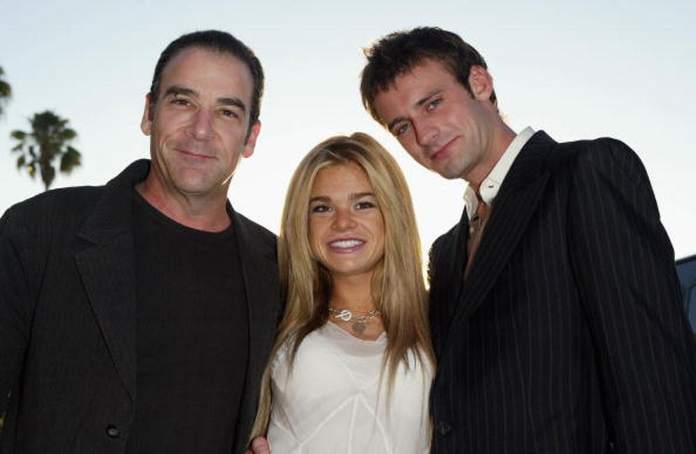 Mandy Patinkin, Ellen Muth and Callum Blue at the Showtime TCA Press Tour.