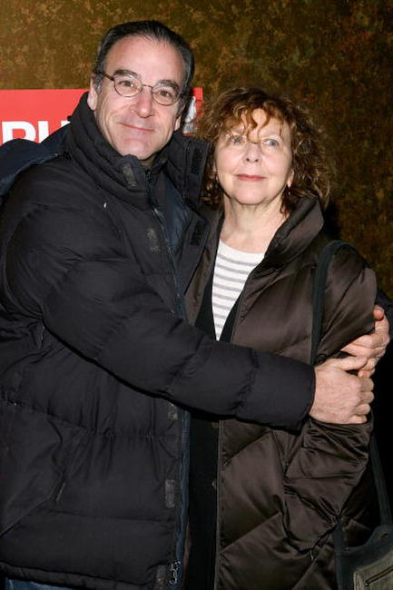 Mandy Patinkin and Kathryn Grody at the opening night party of