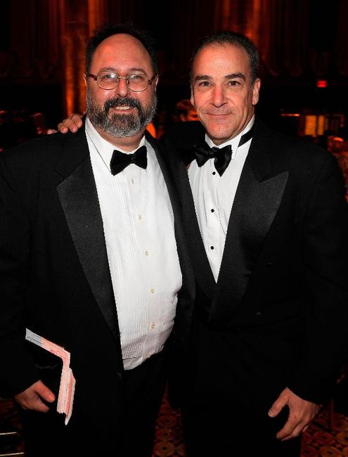 Brian Kulick and Mandy Patinkin at the 2009 Princess Grace Awards Gala.