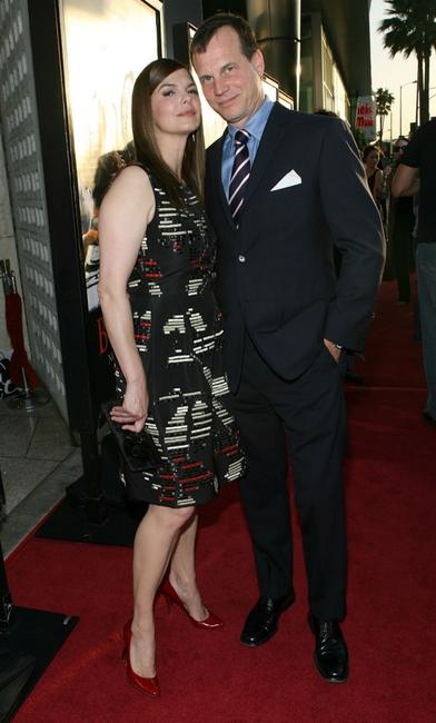 Jeanne Tripplehorn and Bill Paxton at the premiere of