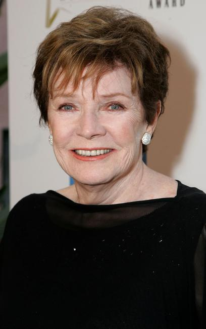 Polly Bergen at the celebration honoring Geena Davis as this year's Hollywood Hero.