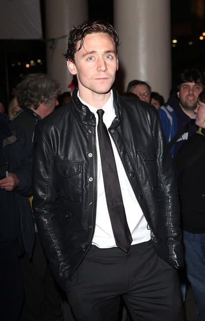 Tom Hiddleston at the London premiere of