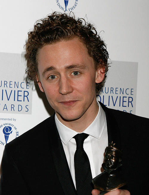 Tom Hiddleston at the Laurence Olivier Awards in London.