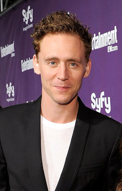 Tom Hiddleston at the EW and SyFy party during Comic-Con 2010.