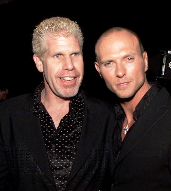 Ron Perlman and Luke Goss at the premiere of