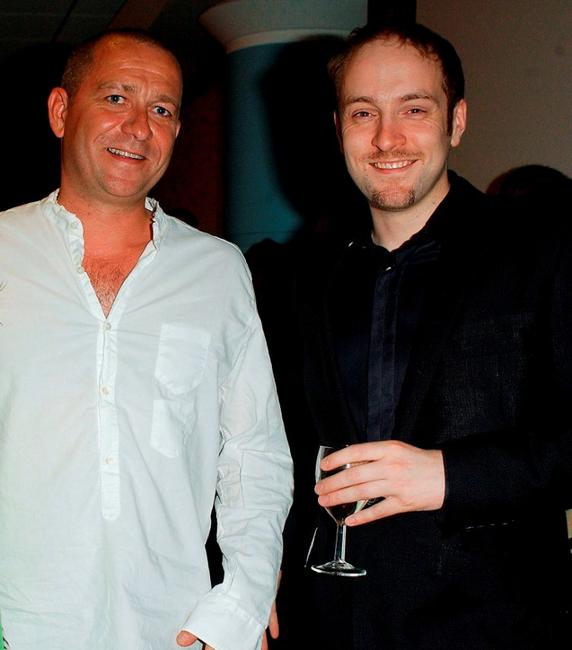 Sean Pertwee and Derren Brown at the UK film premiere of