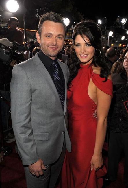 Michael Sheen and Ashley Greene at the California premiere of
