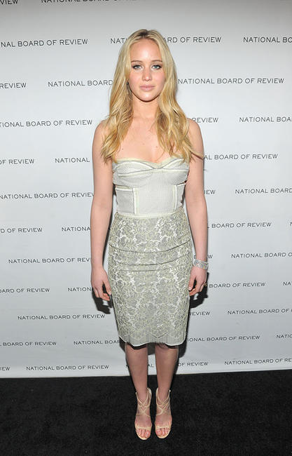Jennifer Lawrence at the 2011 National Board of Review of Motion Pictures Gala in New York.
