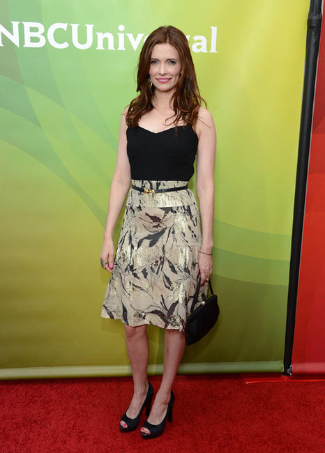 Bitsie Tulloch at the day 1 of the NBCUniversal's