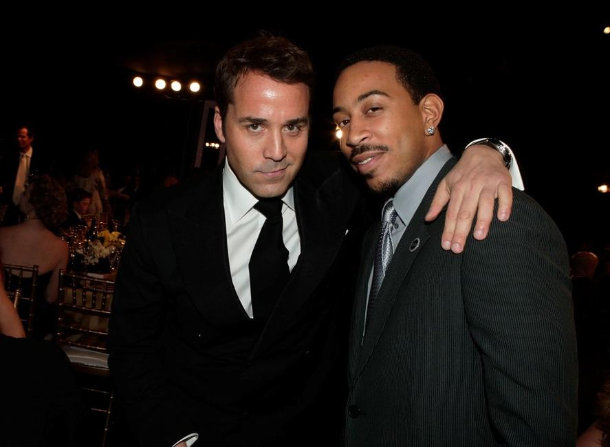 Jeremy Piven and rapper Ludacris at the cocktail party during the 14th annual Screen Actors Guild awards.