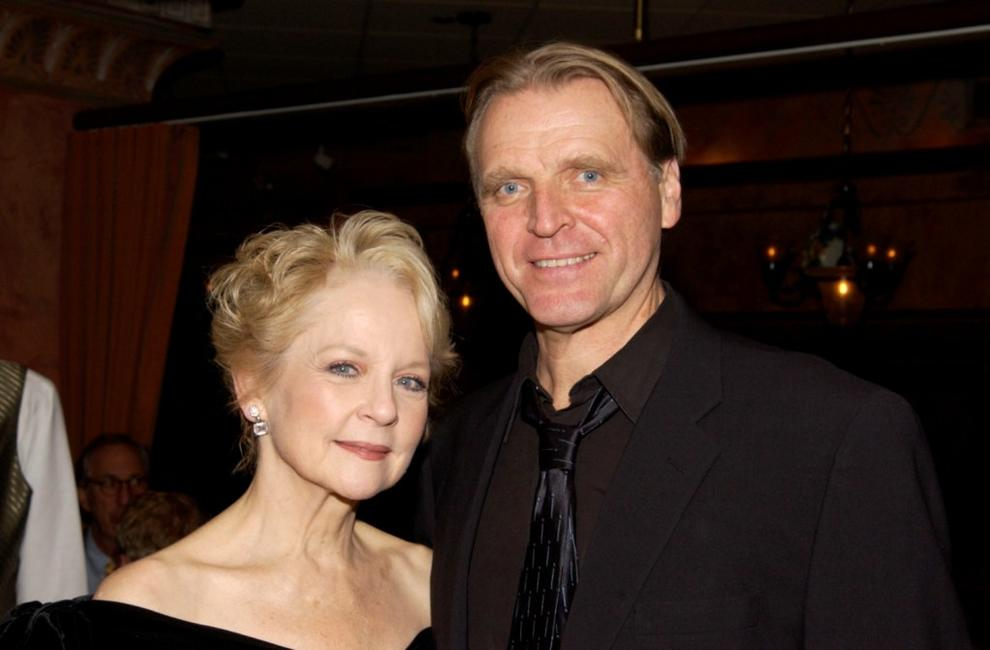 David Rasche and Penny Fuller at the New York after party of