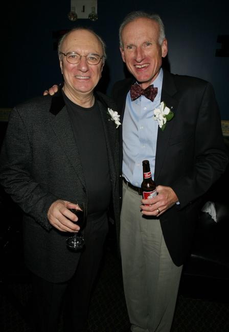 Philip Bosco and James Rebhorn at the after party of the premiere of